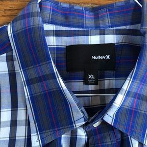 Men's button down Shirt by Hurley XL